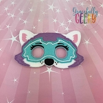 Mighty E Dog Mask Embroidery Design - 5x7 Hoop or Larger